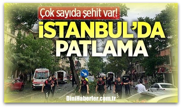 İstanbul\'un göbeğinde patlama