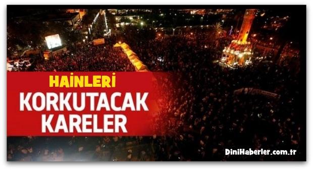 İzmir\'de hainleri korkutacak görüntü