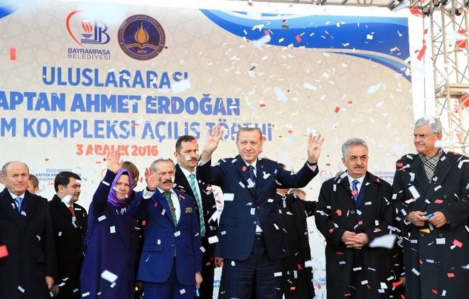 Kaptan Ahmet Erdoğan Uluslararası İmam Hatip Lisesi açıldı