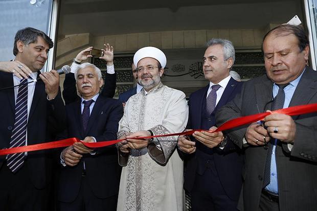 Karabük Üniversitesi Camii dualarla ibadete açıldı