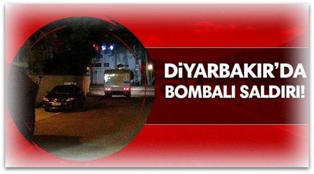 Karakola bomba yüklü araçla saldırı