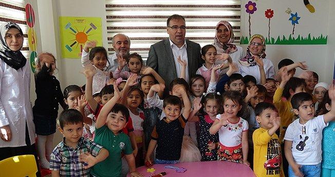 Kaymakam Türköz\'den Kur\'an Kurslarına Ziyaret