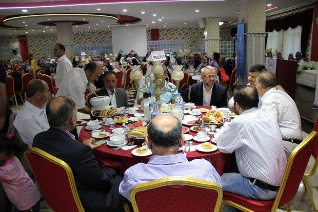 Kayseri Müftülüğünden ilçe müftülükleri personeline iftar yemeği