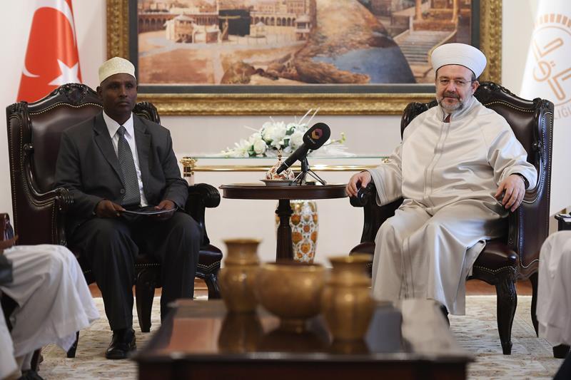 Kenyalı Müslümanlardan Diyanet'e ziyaret