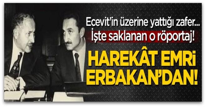 Kıbrıs Fatihi Ecevit değil Erbakan\'dır, İşte saklanan röportaj!