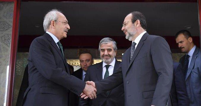 Kılıçdaroğlu'ndan Başkanı Görmez'e ziyaret…
