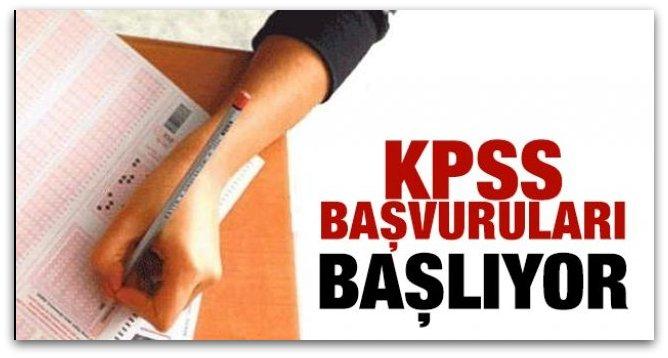 KPSS Ortaöğretim/Ön Lisans başvuruları yarın başlıyor