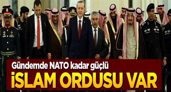 Kral'ın çantasında İslam Ordusu var