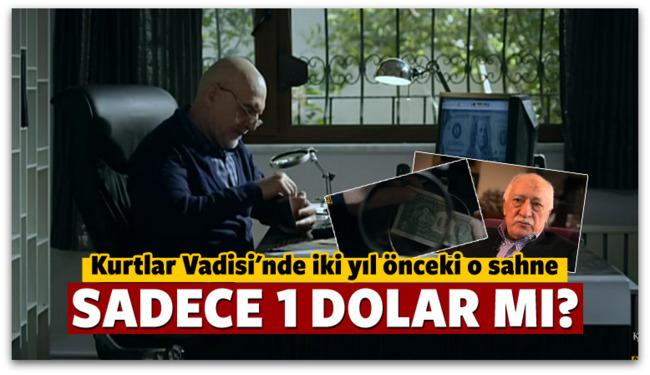 Kurtlar Vadisi\'nde yıllar önceki 1 dolar sahnesi