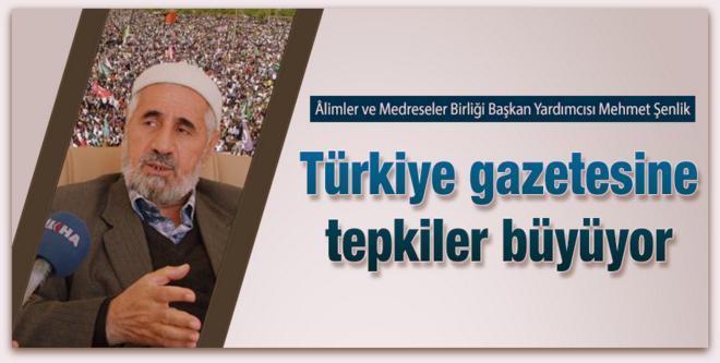 Kutlu Doğum\'u FETÖ ile ilişkilendiren Türkiye gazetesine tepkiler büyüyor