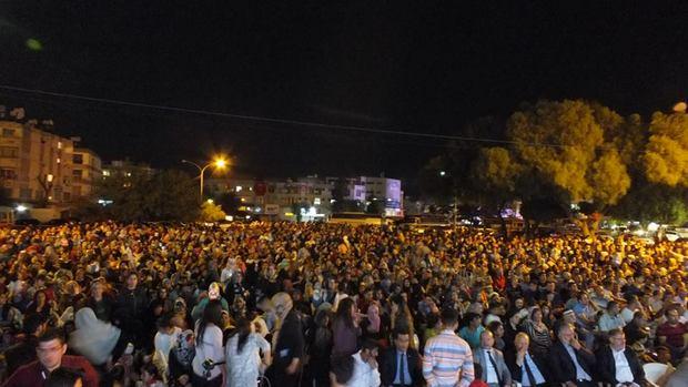 Lefkoşa Terminalinde 5000 Kişiyle Hala Sultan Hazretleri Anıldı
