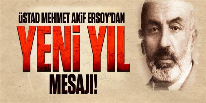 Mehmet Akif Ersoy\'un Yeniyıl Mesajı