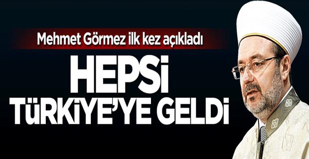 Mehmet Görmez, Bin alim Türkiye\'de