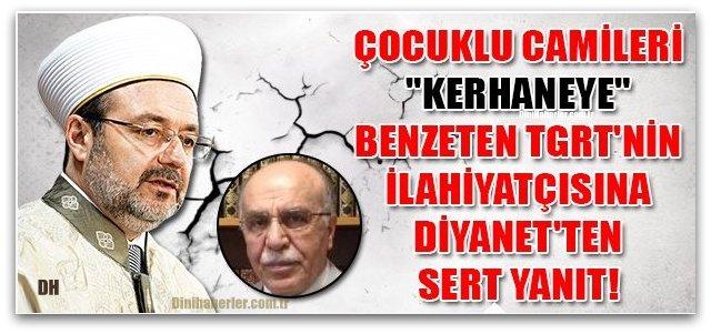 Mehmet Görmez\'den o sözlere çok net cevap