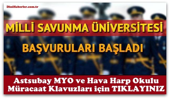 Milli Savunma Üniversitesi için başvurular başladı