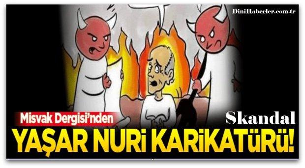 Misvak\'tan Yaşar Nuri Öztürk Karikatürü