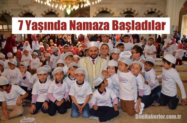 Nevşehir'de 7 Yaşında Namaza Başladılar