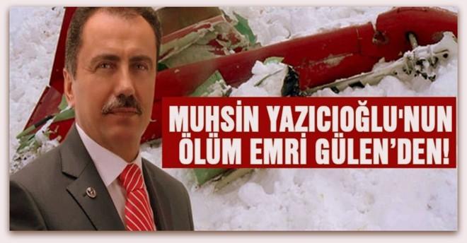 Ölüm emri teröristbaşı Gülen'den