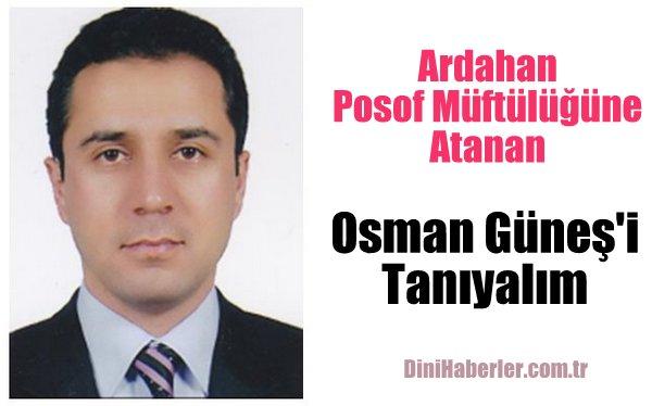 Müftü Osman GÜNEŞ Kimdir?