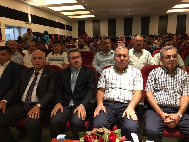 Reyhanlı Müftülüğü Camiler ve Din Görevlileri Haftası Münasebetiyle Konferans Düzenledi