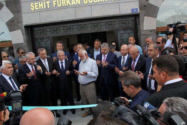 Şehit Furkan Doğan Camii İbadete Açıldı