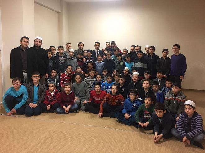 Sinop İl Müftüsü Çelik Hafızlarla Buluştu