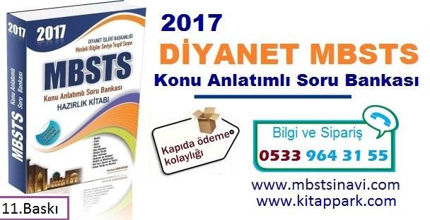 Son sınav sistemine uyumlu 2017 Diyanet Mbsts Hazırlık Kitabı çıktı