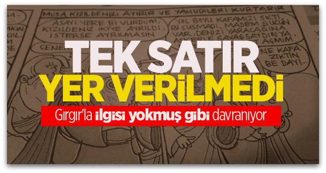 Sözcü gazetesi Gırgır\'la ilgisi yokmuş gibi davranıyor