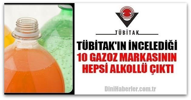 TÜBİTAK\'ın incelediği 10 gazoz markasında alkol çıktı!