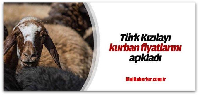 Türk Kızılayı kurban fiyatlarını açıkladı