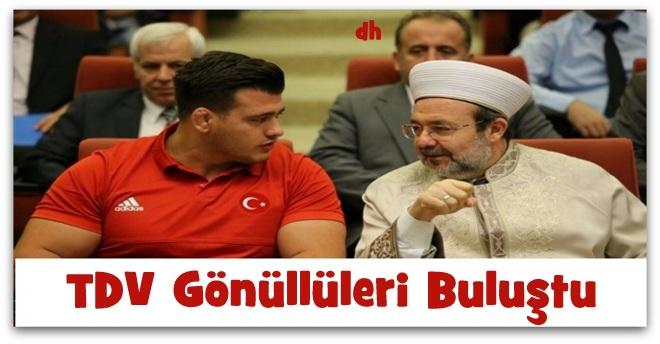 Türkiye Diyanet Vakfı Gönüllüleri Buluştu