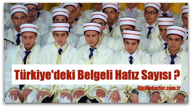 Türkiye\'de 126 bin 500 kadar belgeli hafız var