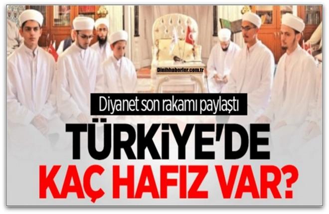 Türkiye\'de Kayıtlı Hafız Sayısı Ne Kadar?