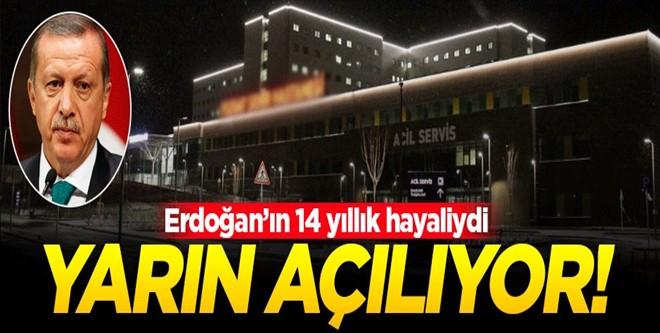 Türkiye\'nin İlk Şehir Hastanesi Yozgat\'ta Açılıyor