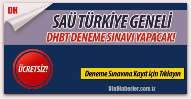 Ücretsiz Online DHBT Deneme Sınavı Yapılacak