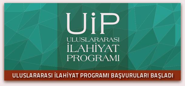 Uluslararası İlahiyat Programı başvuruları başladı