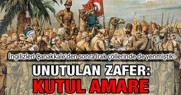 Unutturulan Zafer Kut\'ul Amare