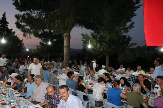 Uzungürgen Köyü Camii Geleneksel İftar Programı