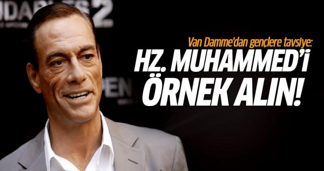 Van Damme: Hz. Muhammed\'i örnek alın