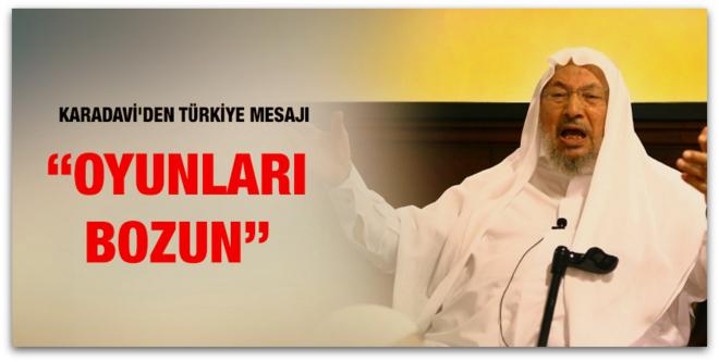 Yusuf El Karadavi\'den Türkiye mesajı