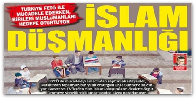 FETÖ Yüzünden İslam Düşmanlığı Arttı