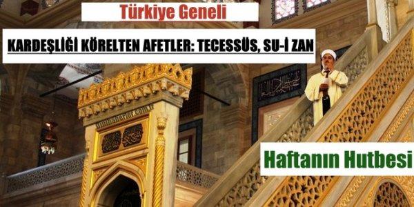 04.09.2015 tarihli haftanın hutbesi-Turkiye Geneli