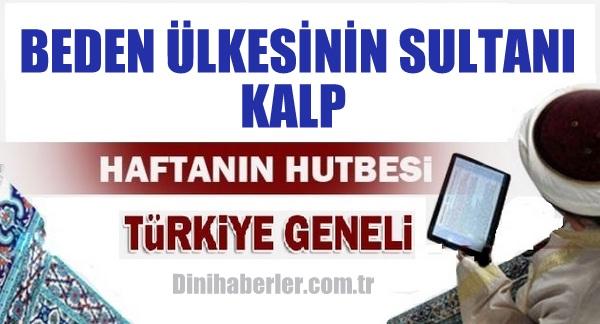 04.12.2015 Tarihli okunacak hutbe.. Turkiye Geneli