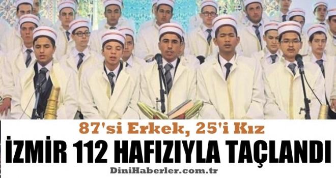 İzmir 112 Hafızıyla Taçlandı.