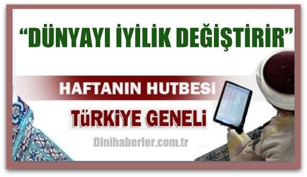 11.03.2016 Tarihli okunacak hutbe.. Turkiye Geneli