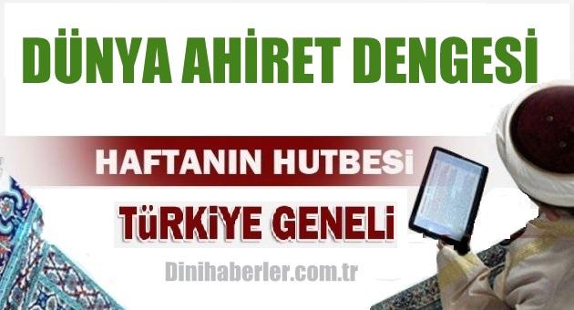 11.12.2015 Tarihli okunacak hutbe.. Turkiye Geneli