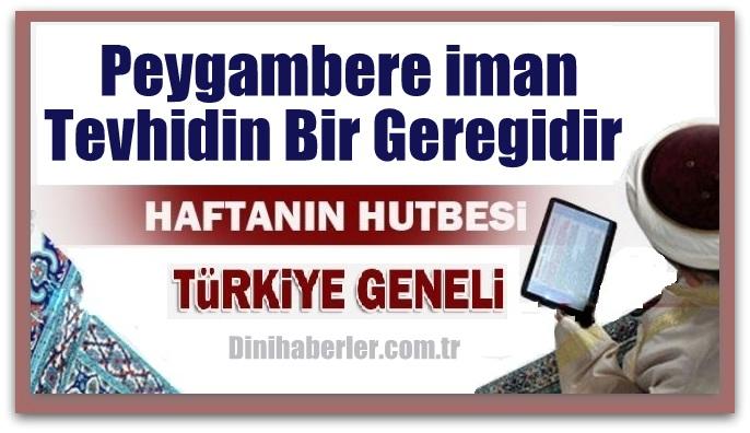 12.02.2016 Tarihli okunacak hutbe.. Turkiye Geneli