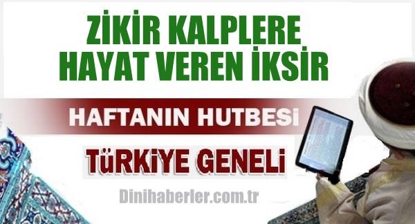 13.11.2015. Tarihli okunacak hutbe.. Turkiye Geneli