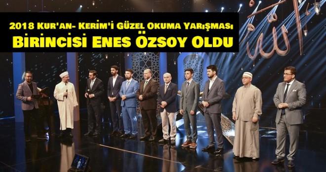 Başkan Erbaş, Kur'an- Kerim'i Güzel Okuma Yarışması nın finaline katıldı