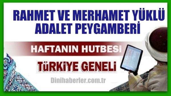 18.12.2015 Tarihli okunacak hutbe.. Turkiye Geneli
